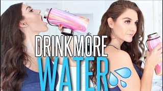 13 Ways To Drink MORE WATER !!