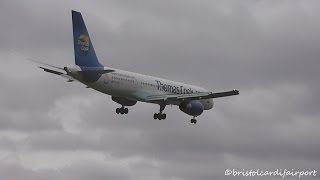 Breathtaking Crosswind & Windshear Landings at Birmingham Airport (BHX-EGBB)