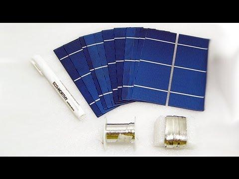 видео: Посылки из Китая - Солнечные батареи 2x6