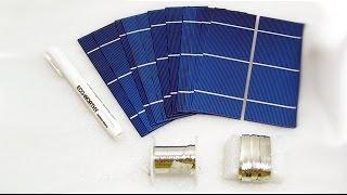 Посылки из Китая - Солнечные батареи 2x6