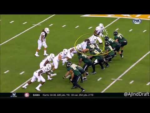 Marcus Davenport (UTSA EDGE) vs Baylor - 2017
