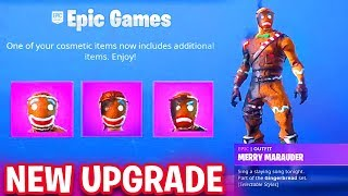 NEW Fortnite MERRY MARAUDER and GINGER GUNNER NEW SKIN Styles + Backbling (Fortnite Battle Royale)