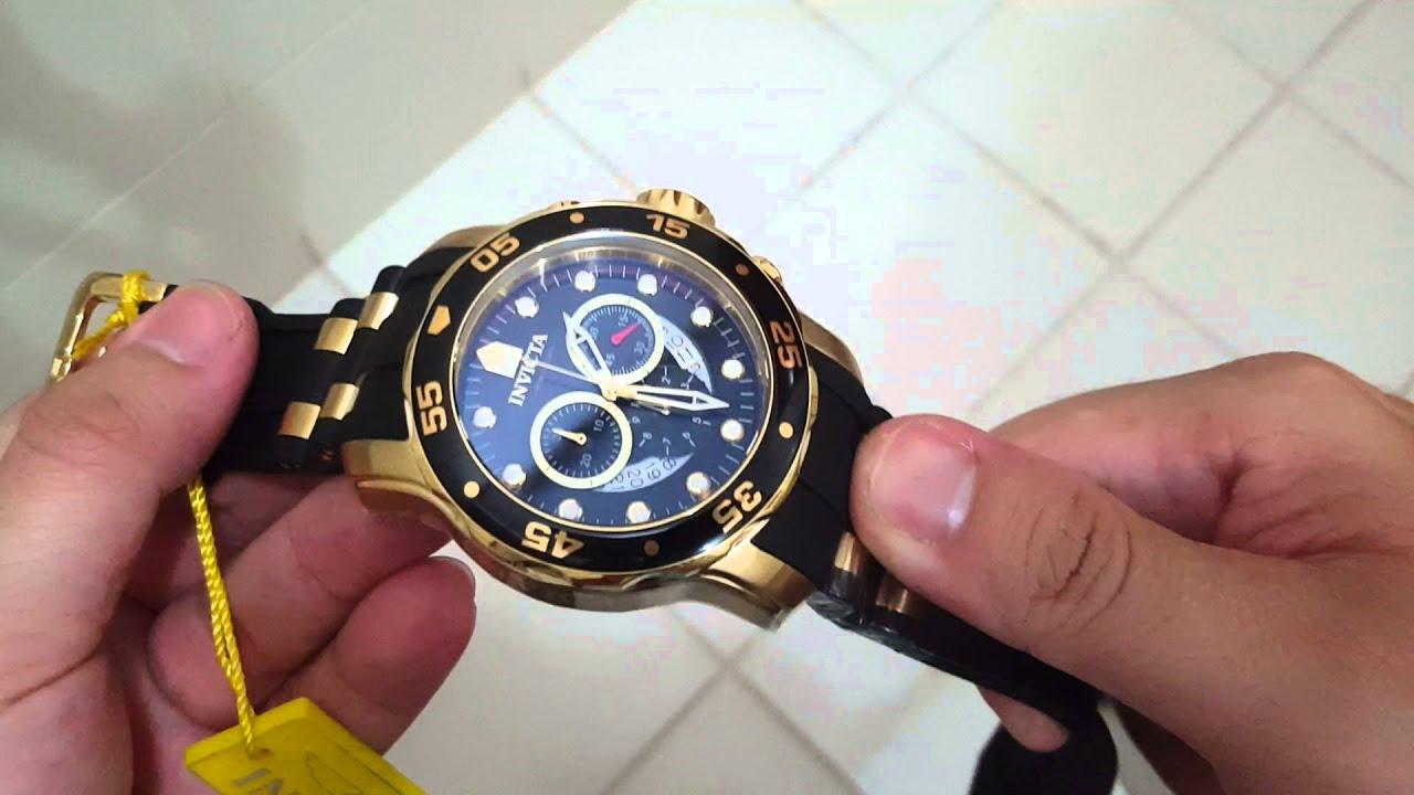 d8d14a7affa Relógio Invicta Pro Diver Ref 6981 Original Produção Atual 2016 Cronografo
