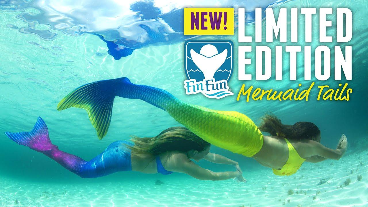 Bali Breeze And Maui Splash Limited Edition Tails Fin