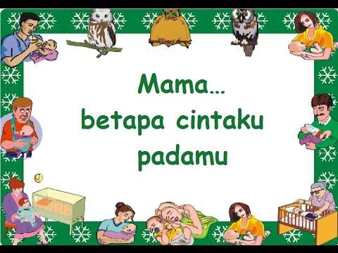 MAMA Dan PAPA SAYANG (LIRIK) - Lagu Anak - Cipt. Pompi S.