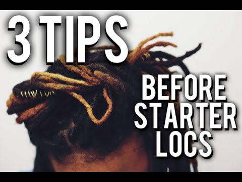 Starter Locs | 3 Tips Before You Start Your Locs