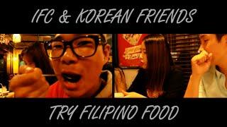 Koreans React to Filipino Food