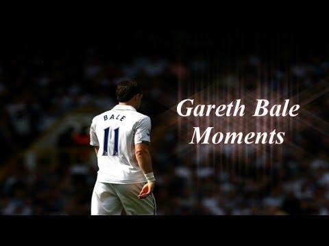 Gareth Bale Moments in Tottenham | (2007 - 2013)