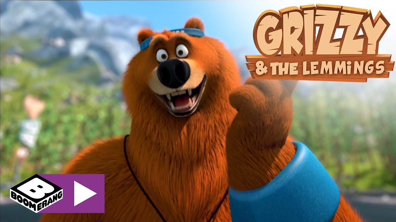 Animated Bear Wallpaper Missile Madness Grizzy Amp The Lemmings Boomerang Youtube