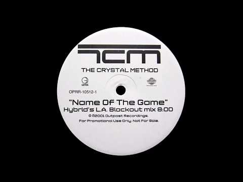 The Crystal Method - Name Of The Game (Hybrid's Blackout In L.A. Mix)