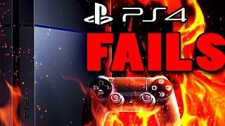 Top 5 PS4 Fails