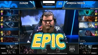 [EPIC] C9 (Licorice Ornn) VS AFS (Kiin Gangplank) Game 3 Highlights - 2018 World Championship QFs