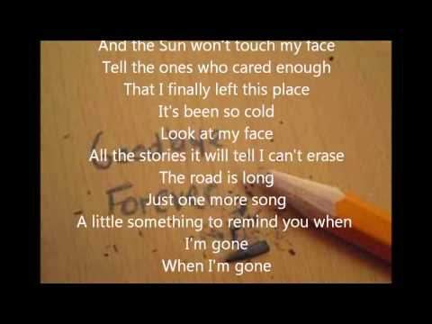 staind something to remind you