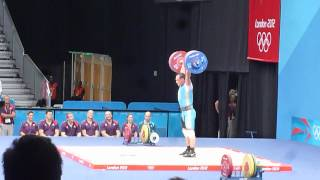 Ilya Ilin at the 2012 Olympics - A fan