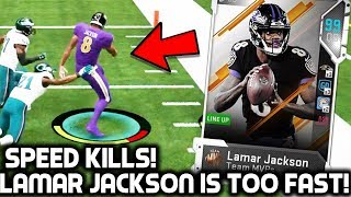 MVP LAMAR JACKSON IS TOO FAST! CHAD JOHNSON! Madden 19 Ultimate Team
