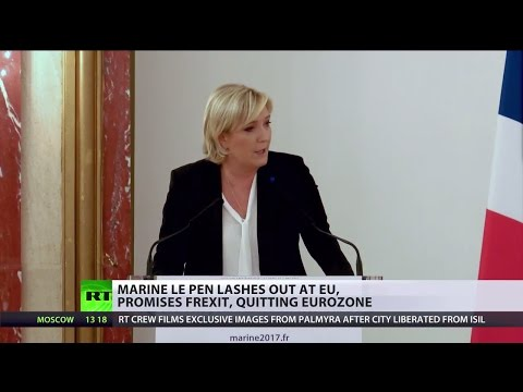 'Euro is dead man walking': Marine Le Pen lashes out at EU, says Frexit is question of time