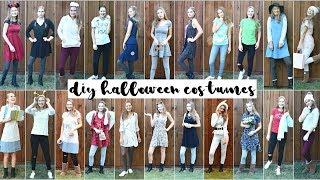 25 DIY Last Minute HALLOWEEN COSTUMES 2017