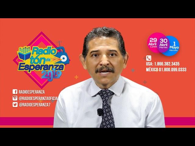 Estás invitado en ser parte de Radio Esperanza a través del Radiotón 2019