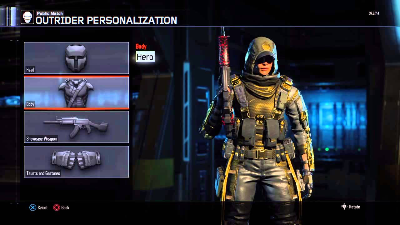*Hero Gear* (Outrider Specialist)