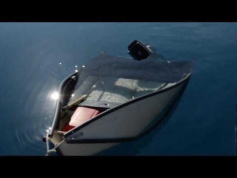 Our Porta-Bote Sunk + Fiberglassing FAIL — Sailing Uma [Step 114]