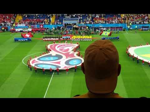 Brazil vs Switzerland - 2018 FIFA World Cup Russia. Opening Ceremony