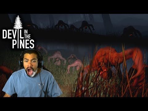 I'M NOT READY FOR THE DEMONS IN THIS GAME!! | Devil in the Pines