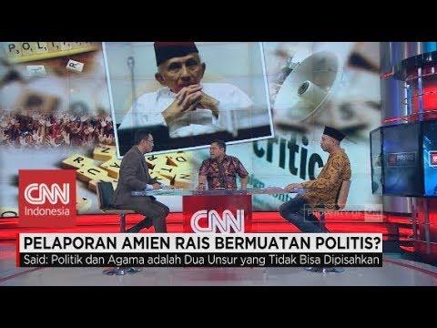 Pelapor: Amien Rais Manfaatkan Ayat Demi Kepentingan Politik