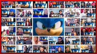 Sonic the Hedgehog Trailer 2 Mega Reactions Mashup