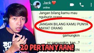 DIA DIDEPAN RUMAHKU! TOLONG! 😨🔪 | Chat History Horror Indonesia