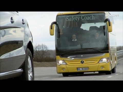 ► Mercedes Travego - Activ Brake Assist