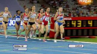 Nuria Fernández se lleva el oro en los 1.500m