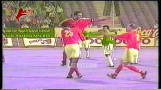 أهداف فوز الأهلي 2 مقابل 0 السويس عرابي و حسام حسن الأسبوع 26 الدوري 19 مايو 1998