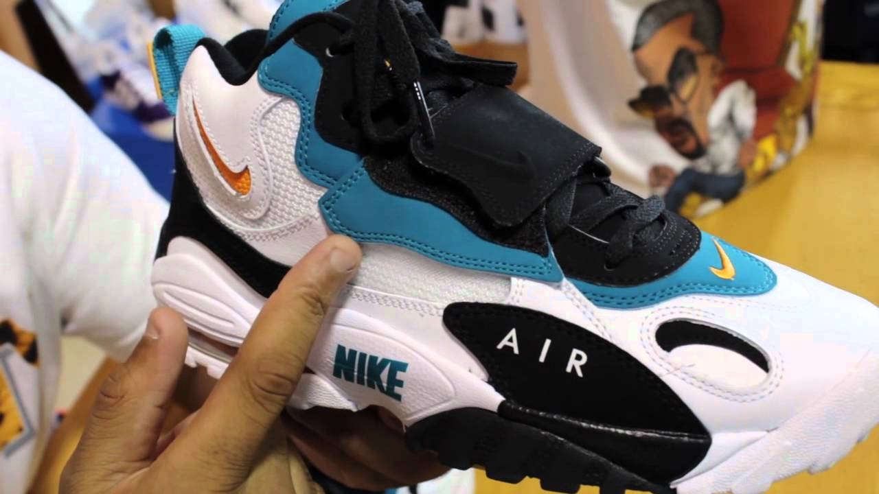 the best attitude 7528c e94d5 Nike Air Max Speed Turf Industrial Orange (Miami Dolphins) Shoe Review -  YouTube