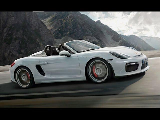 Porsche Boxster Spyder -- TEST/DRIVE