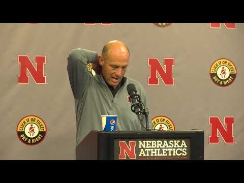 Mike Riley on where the Huskers are and where they're going