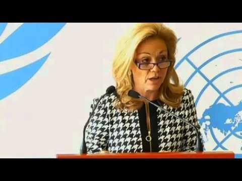 Ambassador Donahoe Delivers Remarks on North Korea - YouTube