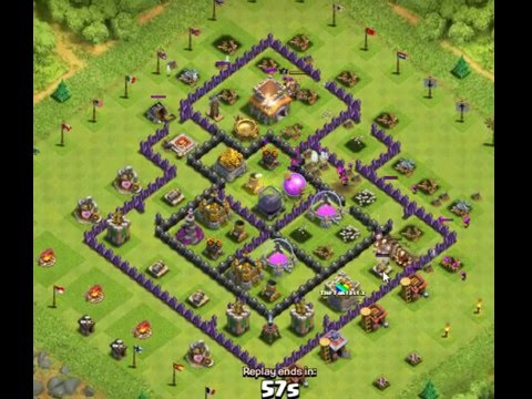 Cara Membuat Base Coc Th 8 3