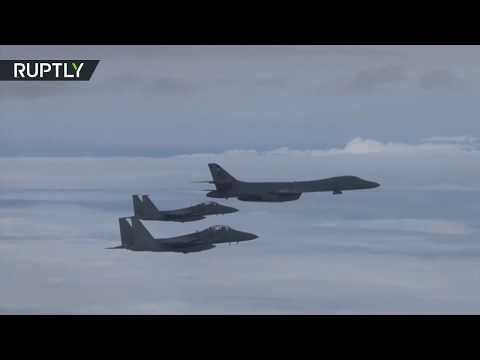 Thumbnail: RAW: US bombers hold live-fire drills with South Korean Air Force