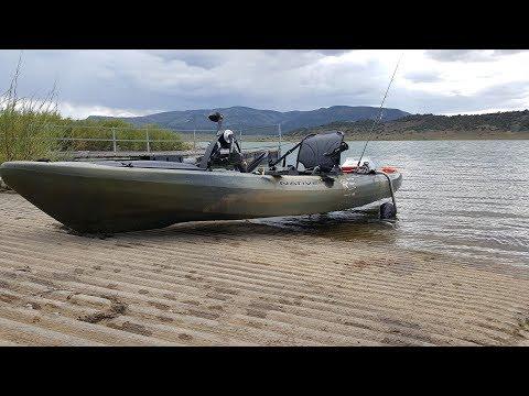 NFN's 2017 Colorado Adventure - Trout Fishing With Underwater Footage Aqua-Vu 700i - Kayak