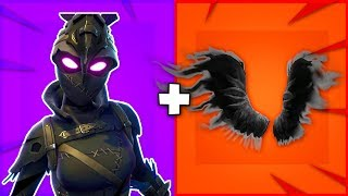 "10 BEST ""SHADOW WINGS"" SKIN + BACKBLING COMBOS in Fortnite! (new BEST wings)"