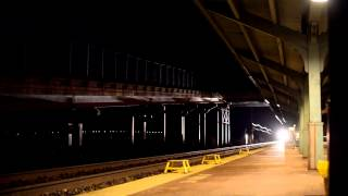 Amtrak 844 with new CAF Viewliner II Cars and the Veterans Unit at Rhinecliff, NY