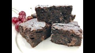 Диетический брауни | Рецепт брауни с какао, шоколадом и кабачком