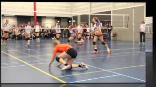 volleybal Flash Nieuwleusen dames 1 -DIO Bedum dames 1     3e divisie