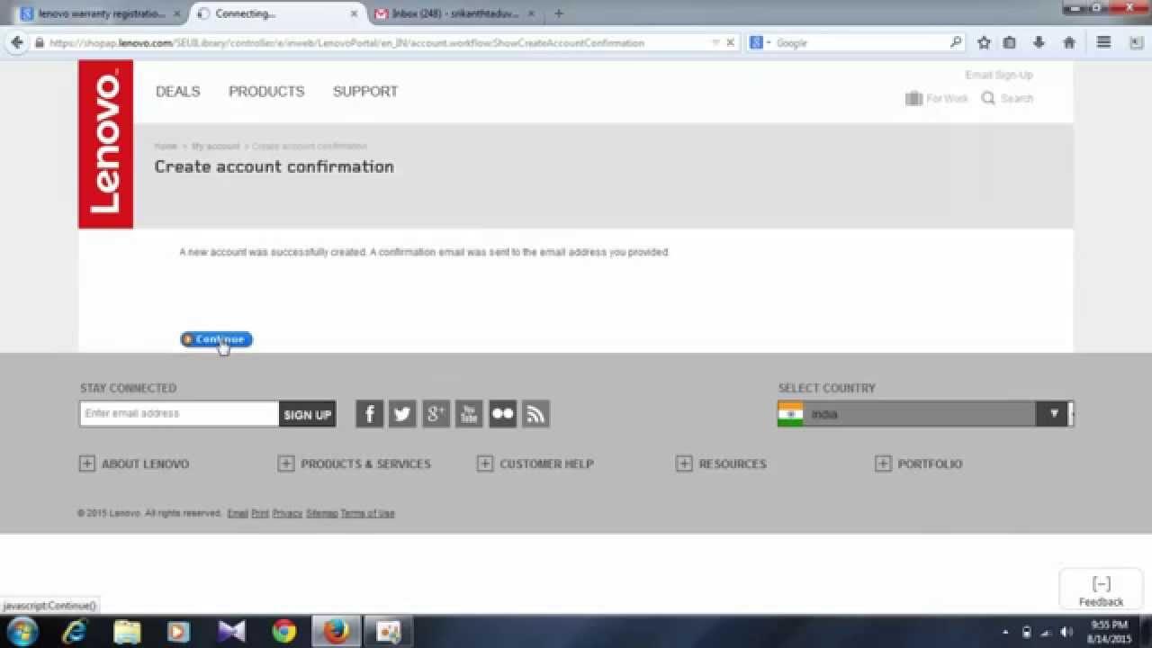 How To Register Lenovo Laptop For Warranty | lenovo laptop online warranty  registration