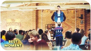 Sex Education 2019 1x01 | Adam's performance in the school cafeteria