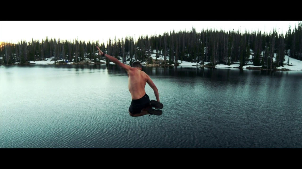 The Uintas - FREEZING CLIFF JUMPING
