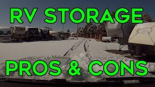 RV Storage: Pros and Cons Of RV Storage Facilities