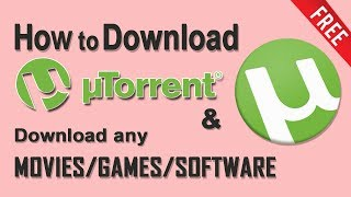 How to download uTorrent in windows 7/8/10 pc - Hindi