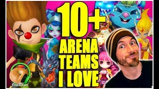 SUMMONERS WAR: 10+ ARENA OFFENSE TEAMS I LOVE!