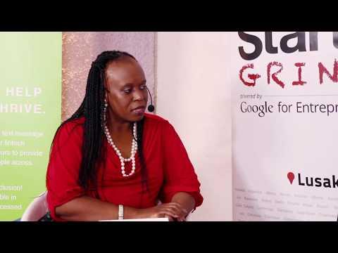 Chisha L Folotiya (Rhodes Park Group) Startup Grind Lusaka